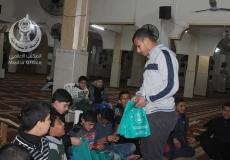 الكتلة الإسلامية في  النصيرات_مسجد الجمعية الإسلامية تنظم لقاء تربوي لطلاب المرحلة الإعدادية