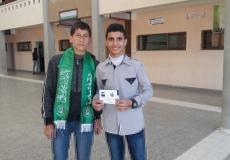 وزعت الكتلة الاسلامية في مدرسة سعاد صبّاح مطوية عن حياة الشهيد الجعبري ( سيرة مجاهد )
