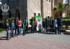 الكتلة الإسلامية شرق غزة تنظم رحلة للطلاب المتفوقين بمدرسة حطين