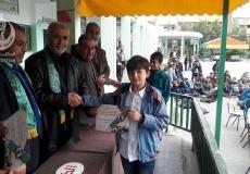 صور حفل  تكريم المتفوقين  في مدرسة سخنين  الإعدادية في بيت لاهيا