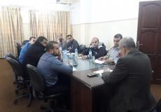 ورشة عمل مشتركة بين الكتلة و الجماهيري بمنطقة غرب غزة