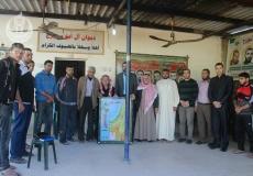 الكتلة الإسلامية بالوسطى تزور دواوين العائلات الكبرى