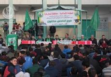 صور حفل  تكريم المتفوقين في مدرسة عثمان بن عفان الثانوية شمال غزة