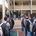 جانب من الوقفة الطلابية
