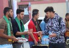 الكتلة الإسلامية برفح تستقبل طلاب الثانوية العامة في أول يوم من الاختبارات النهائية