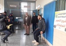 الكتلة الاسلامية في المدارس الثانوية في المحافظة الوسطى تختتم مشروع التصوير الفوتوغرافي لاستمارة توجيهي