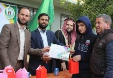 صور احتفال اتكريم المتفوقين في مدرسة جبل المكبر الثانوية شمال غزة