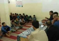 محاضرة بعنوان بالعلم نرتقي في معسكر محافظة خان يونس