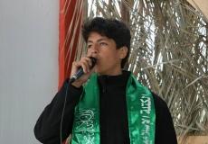 تنظيم مسابقة مواهب وامسية انشادية في مخيم العودة شرق غزة