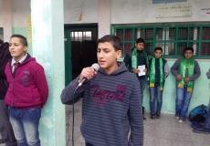 الكتلة الاسلامية في مدرستي اليرموك-أ,ب تنظمان حملة عن أهمية الصلاة.