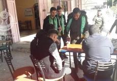 الكتلة الإسلامية في كلية فلسطين التقنية تنفذ مشروعها الخدماتي (شايك علينا)