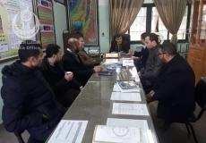 الكتلة الاسلامية في الوسطى تزور عدد من مدراء المدارس