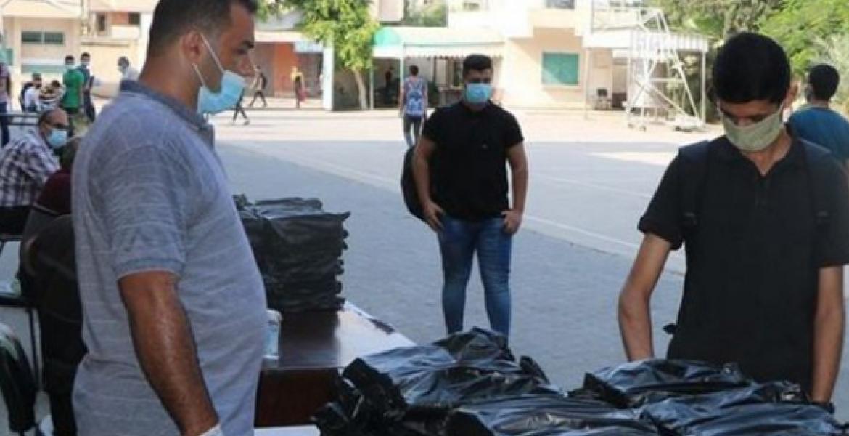 توزيع الكتب 222المدرسية