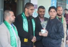 إطلاق مشروع كن مميزاً بمدارس غرب غزة