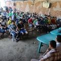 المخيم وكلمة الدكتور البعلوجي