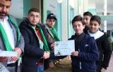 اختتام احتفالات التفوق فوج القدس في المدارس الثانوية شرق غزة