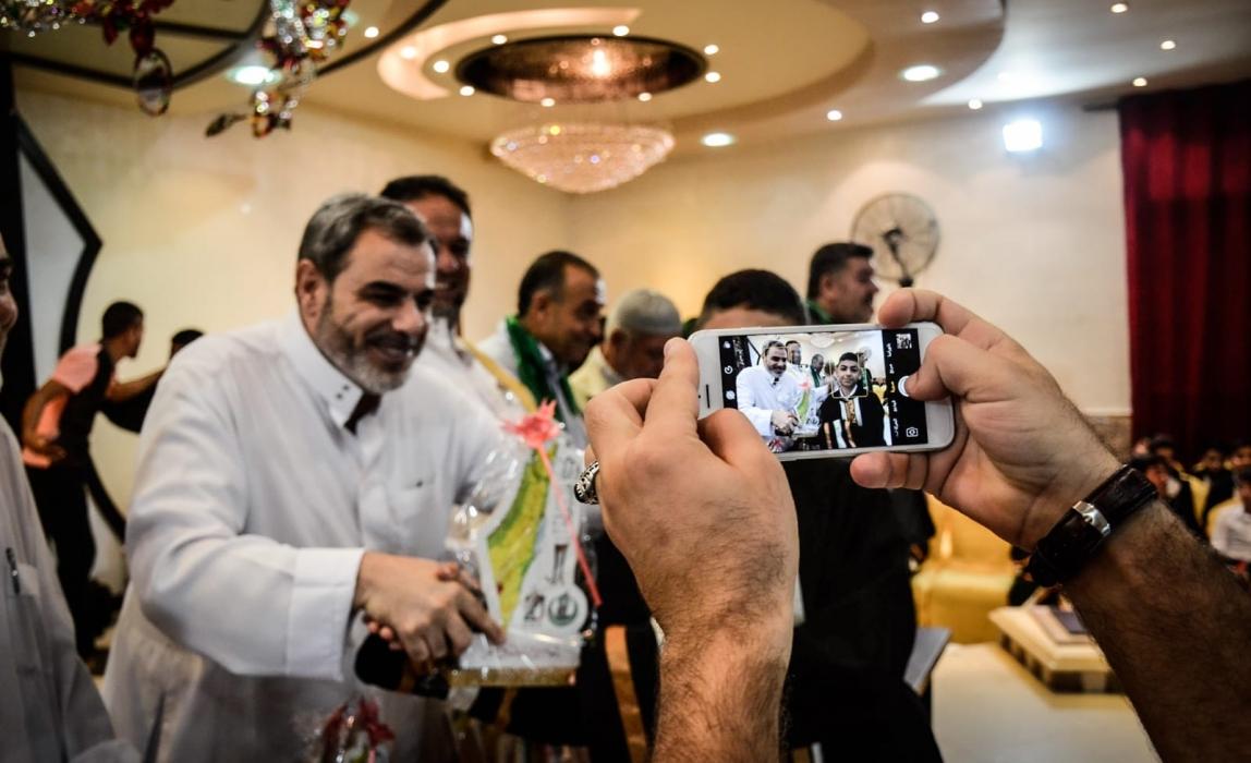 احتفالات التفوق العشرون لتكريم المتفوقين في مدينة جباليا شمال غزة