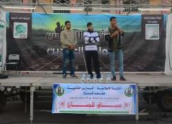 الملتقى الدعوي ( سباق الجنان ) فالمدارس الثانوية بجنوب غزة