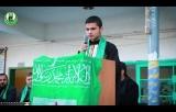 شاهد ماذا قال أحد الطلاب المتفوقين عن صفقة القرن ضمن احتفالات الكتلة الإسلامية في محافظة شمال غزة