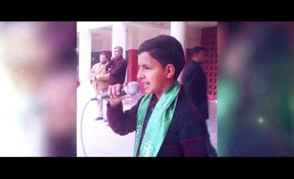 حملة صلاتي حياتي في المدارس الإعدادية بشمال غزة