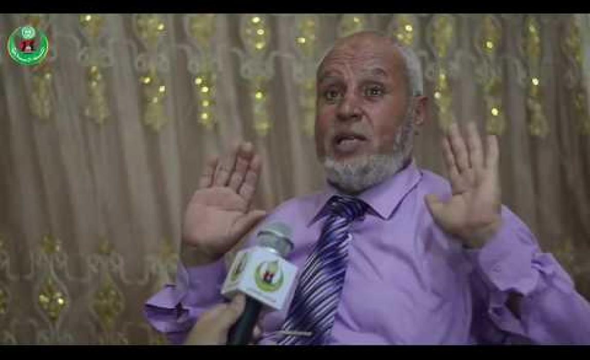 مقابلة مع طالب الثانوية العامة صاحب العزيمة القوية ناصر أبو عودة - الكتلة الإسلامية خان يونس
