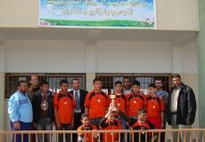 تكريم الفائزين بدوري الوحدة في جنوب غزة