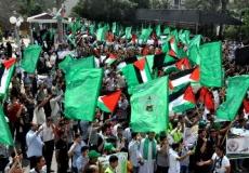 الكتلة تنظم مسيرة طلابية حاشدة نصرة للأقصى (بعدسة خالد الجيش )