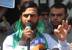 الوقفة الطلابية استنكاراً للاعتداء على اعتصام بيرزيت