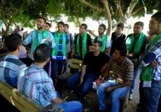 المسابقة الثقافية الميدانبة فى الجامعة الاسلامية 17/9/2013