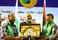 لقاء كوادر الكتلة الإسلامية برئيس الوزراء د. إسماعيل هنية