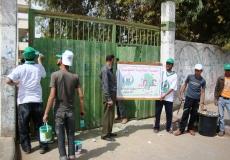 حملة الكتلة الإسلامية فى مدارس القطاع