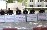 اعتصام طلبة بيرزيت احتجاجاً على الاعتقال السياسي 2012