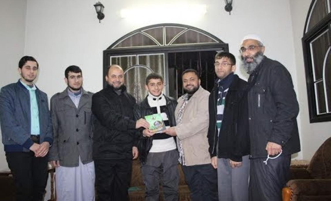 حملة زيارات الكتلة الإسلامية شمال غزة