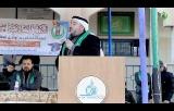 مقتطفات من كلمة النائب في المجلس التشريعي د. يوسف الشرافي في احتفالات تكريم المتفوقين بشمال غزة